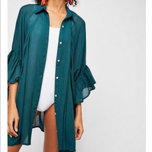 Free People Love Is blouse